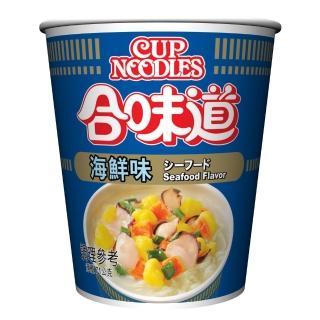【NISSIN 日清】合味道 海鮮味杯麵 71g(日清泡麵)