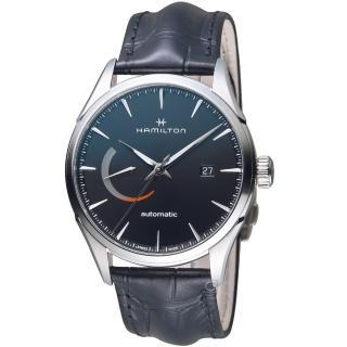 【HAMILTON 漢米爾頓】Jazzmaster Power Reserve系列機械腕錶(H32635731)  HAMILTON 漢米爾頓