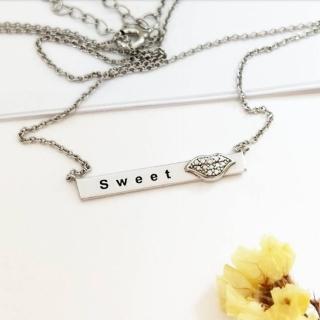 【DoriAN】甜蜜約定鎖骨項鍊(925純銀 附精美禮盒)  DoriAN