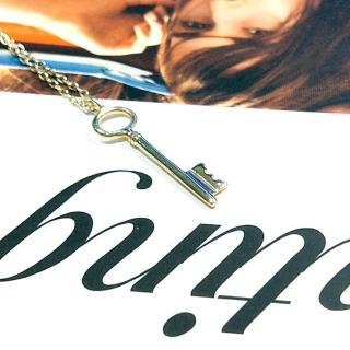 【DoriAN】Key 秘密金鑰925純銀 鍍18K金鎖骨項鍊(附精美手工禮盒)   DoriAN