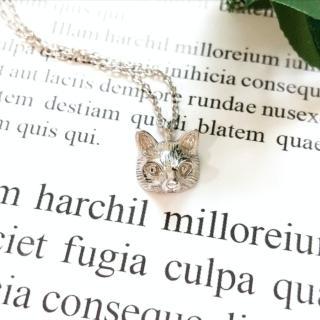 【DoriAN】招桃花小狐狸925純銀鎖骨項鍊(附精美手工禮盒)   DoriAN