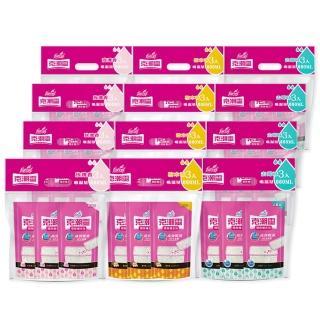 【克潮靈】除濕桶補充包36入-玫瑰香/檜木香(3入/組-12組/箱-箱購)推薦折扣  克潮靈