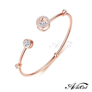 【AchiCat】925純銀 跳舞的手環 圓滿的愛 跳舞石 BS7009   AchiCat