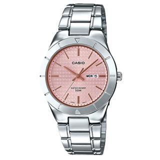 【CASIO 卡西歐】氣質指針女錶 不鏽鋼錶帶 防水 星日期顯示(LTP-1410D-4A2)   CASIO 卡西歐