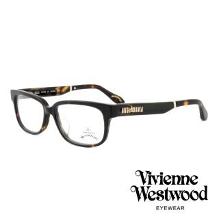 【Vivienne Westwood】英國薇薇安魏斯伍德插畫風格光學眼鏡(琥珀 AN298M04)   Vivienne Westwood