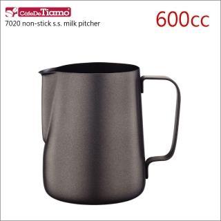 【Tiamo】7020鐵氟龍塗層不鏽鋼拉花杯-600cc(HC7069)   Tiamo