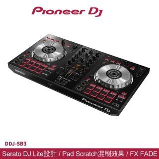 【Pioneer 先鋒】DDJ-SB3 入門級四軌 Serato DJ 控制器  Pioneer 先鋒