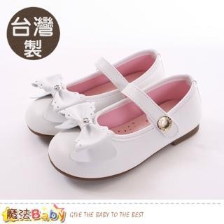 【魔法Baby】15.5-20cm女童鞋 台灣製手工娃娃鞋 公主鞋(sk0331)   魔法Baby