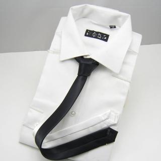 【拉福】極細3.5cm黑色超窄版領帶拉鍊領帶(兒童黑)   拉福