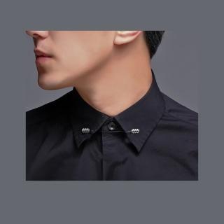 【拉福】男仕專用襯衫領針(螺旋)  拉福