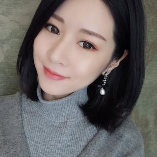 【梨花HaNA】韓國絕美流星緞帶細緻珍珠長耳環  梨花HaNA