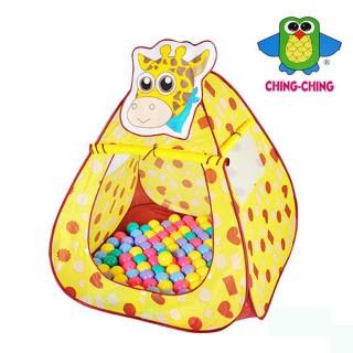 【Ching Ching 親親】長頸鹿帳篷+100彩球(CBH-11)   Ching Ching 親親
