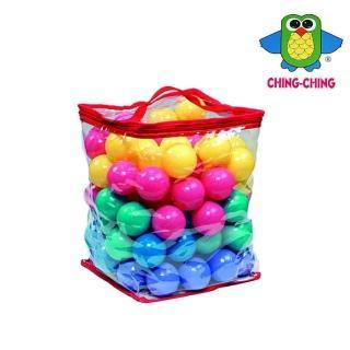 【Ching Ching 親親】7cm彩色池球PVC袋裝/100顆(CCB-04)  Ching Ching 親親