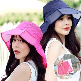 【Seoul Show首爾秀】可摺疊防水輕巧漁夫帽防曬遮陽帽(9色)   Seoul Show首爾秀