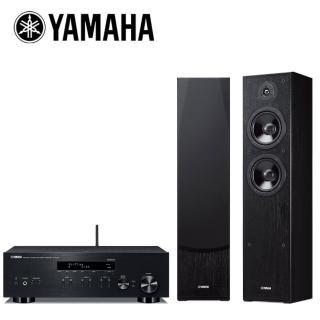 【YAMAHA 山葉】網路Hi-Fi二聲道音響組合(R-N303+NS-F51)  YAMAHA 山葉