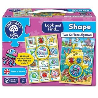 【Orchard Toys】小偵探拼圖-幾何形狀(Look and Find-Shape Jigsaw)