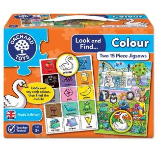 【Orchard Toys】小偵探拼圖-顏色圖騰(Look and Find-Colour Jigsaw)