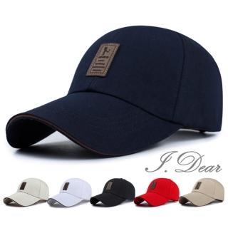 【I.Dear】日韓時尚男女個性帆布遮陽棒球帽鴨舌帽(5色)   I.Dear