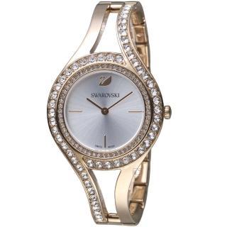 【SWAROVSKI 施華洛世奇】耀眼流線時尚腕錶(5377563) 推薦  SWAROVSKI 施華洛世奇