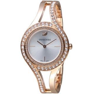 【SWAROVSKI 施華洛世奇】耀眼流線時尚腕錶(5377576) 推薦  SWAROVSKI 施華洛世奇