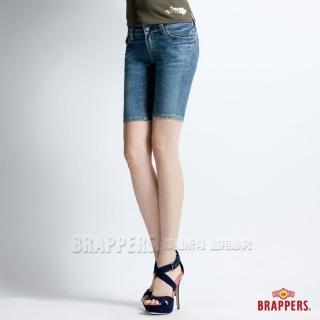 【BRAPPERS】女款 新美腳二代系列-合身五分褲(淺藍)   BRAPPERS
