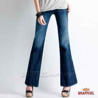 【BRAPPERS】女款 Lady Vintage 系列-大喇叭褲(藍)   BRAPPERS