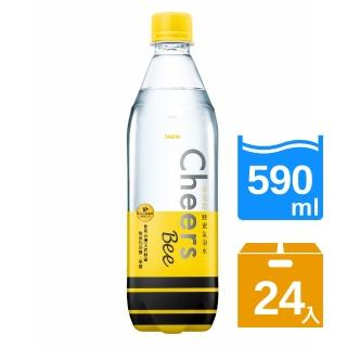 【泰山】Cheers Bee蜂蜜氣泡水590ml(24入/箱)真心推薦  泰山