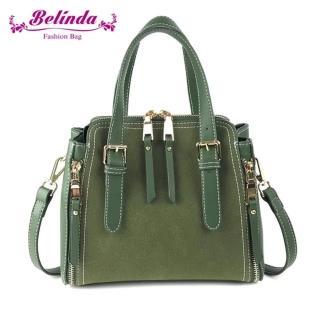 【Belinda】雪絨花手提側背包-三色  Belinda