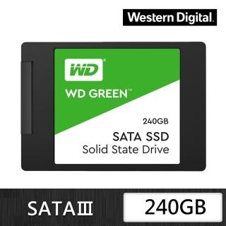 【WD 威騰】綠標 240GB 2.5吋 7mm SATA 固態硬碟(WDS240G2G0A)推薦折扣  WD 威騰