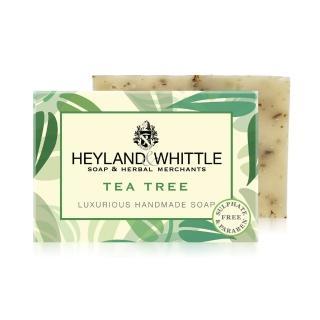 【H&W 英倫薇朵】清新茶樹手工香氛皂(120g)  H&W 英倫薇朵