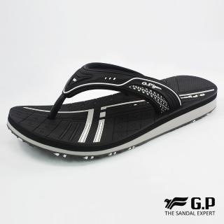 【G.P】女款親子系列緩震夾腳拖鞋G8509BW-黑色(SIZE:33-39 共三色)真心推薦  G.P