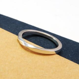 【ART64】幾何方扭結戒指 純銀戒指  ART64