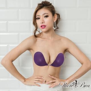 【Show Bra】隱形內衣 完美包覆款(珠光紫)  Show Bra