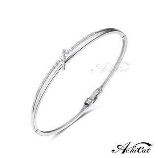 【AchiCat】手環 正白K 完美佳人 B7001(銀色)好評推薦  AchiCat