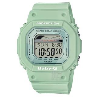 【CASIO 卡西歐】卡西歐 Baby-G 潮汐電子錶-綠(BLX-560-3)  CASIO 卡西歐