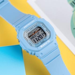 【CASIO 卡西歐】BABY-G 衝浪復古夏季時尚運動腕錶(BLX-560-2DR)強力推薦  CASIO 卡西歐