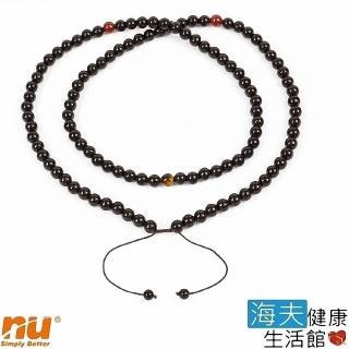 【恩悠數位x海夫】108顆 黑色 能量珠 項圈 推薦  恩悠數位x海夫