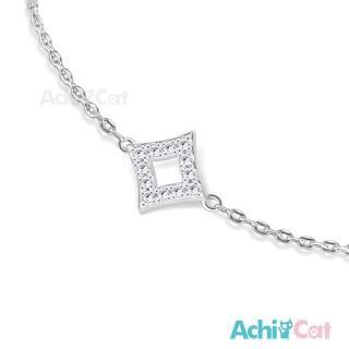 【AchiCat】925純銀手鍊 知心閨蜜 幾何世界 HS6033  AchiCat