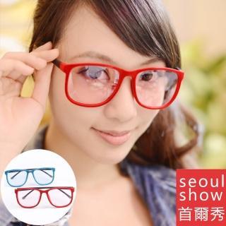 【Seoul Show首爾秀】短絨大方框濾光微墨鏡 301(防曬遮陽)好評推薦  Seoul Show首爾秀
