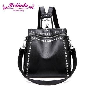【Belinda】小惡魔二用後背包-黑色  Belinda