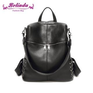 【Belinda】索菲雅二用後背包-黑色 推薦  Belinda