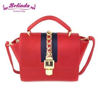 【Belinda】馬恩賽納斜背側背包-四色真心推薦  Belinda
