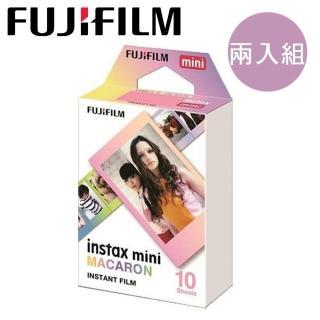 【FUJIFILM 富士】instax mini(馬卡龍漸層-2入組) 推薦  FUJIFILM 富士