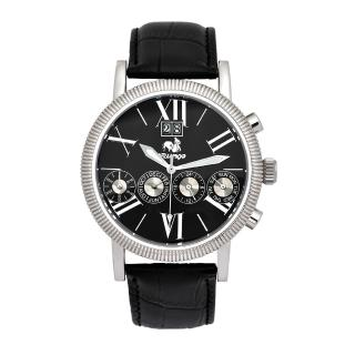 【Flungo佛朗明哥】Flungo佛朗明哥七針大日曆機械腕錶(一線四針腕錶的高級工藝象徵)  Flungo佛朗明哥