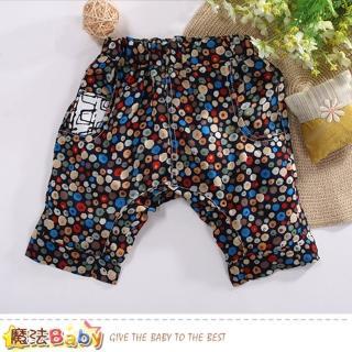 【魔法Baby】女童短褲 夏季柔軟涼爽休閒短褲(k50759)  魔法Baby