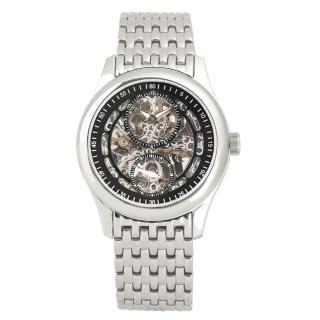 【Flungo佛朗明哥】獨立秒針鏤空機械錶鋼帶款(獨立秒針鏤空機械錶)好評推薦  Flungo佛朗明哥