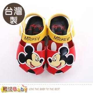 【魔法Baby】13-19.5cm童鞋 台灣製迪士尼米妮正版女童涼鞋(sk0415)  魔法Baby