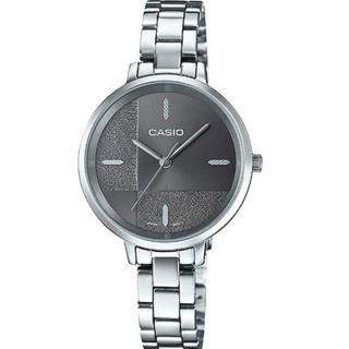 【CASIO 卡西歐】簡約指針女錶 不鏽鋼錶帶 割造型錶面 防水(LTP-E152D-1E)真心推薦  CASIO 卡西歐