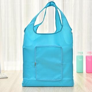 【iSFun】防水素面*摺疊收納輕便購物袋/5色可選  iSFun