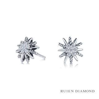 【RUIEN DIAMOND 瑞恩鑽石】輕珠寶系列 7分 鑽石(14K白金 鑽石耳環)  RUIEN DIAMOND 瑞恩鑽石